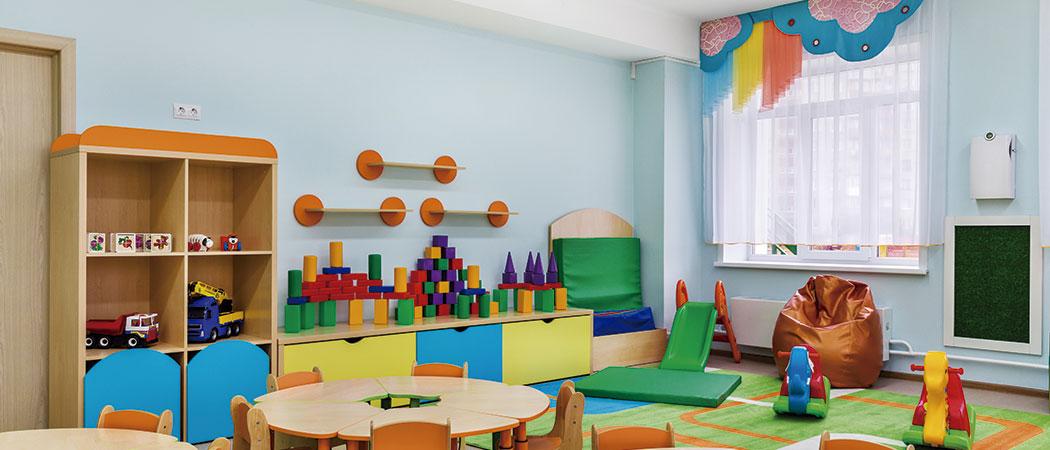 limpieza y de escuelas infantiles