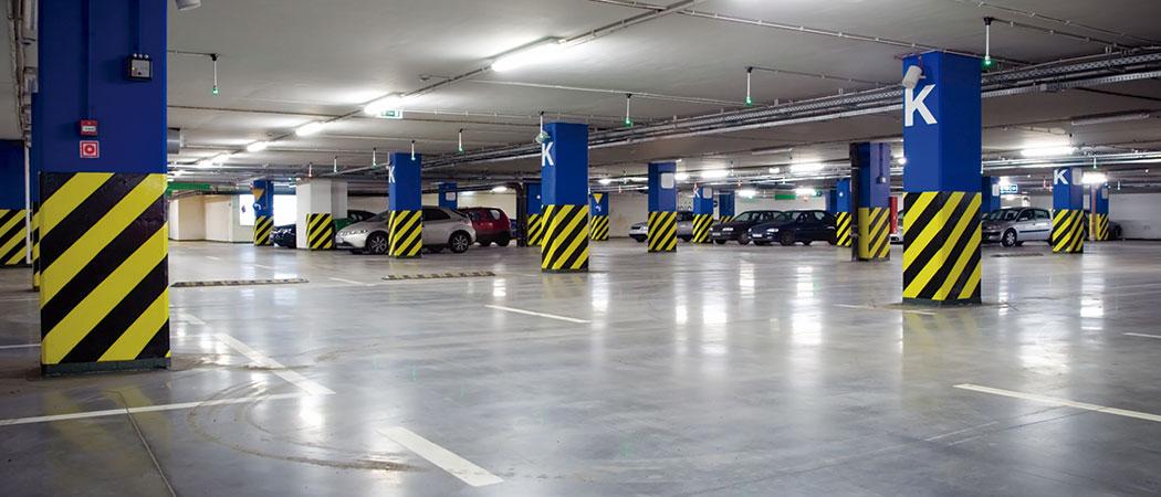 Limpieza y mantenimiento de parking