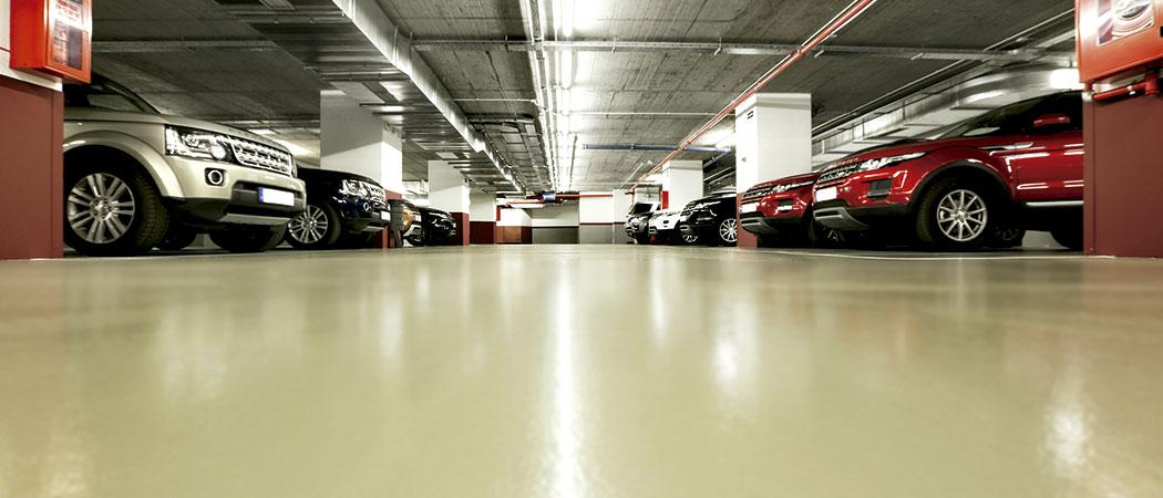 abrillantado de suelos de parkings