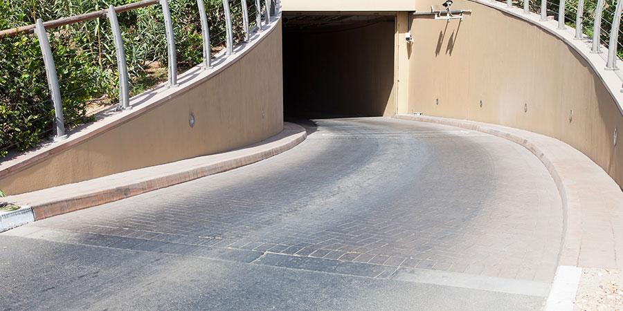 limpieza de rampas de parkings