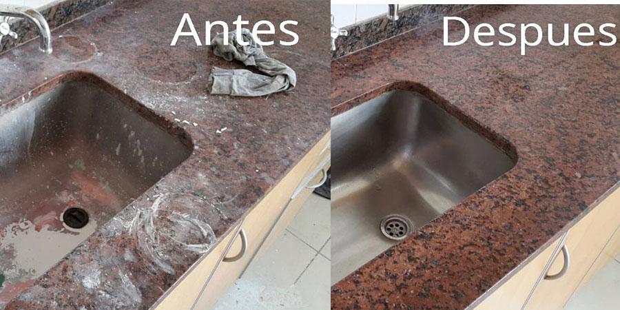 antes y después de final de obra
